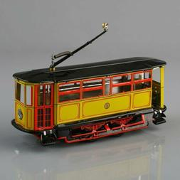 1 pc New Wind-Up Tram Trolley Streetcar Metal Tin Toy Adult