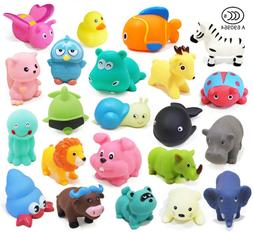 13Pcs Bath Time Baby Kids Toys Bathing Environmental Animal