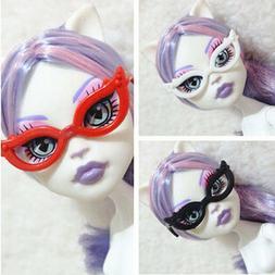 10pcs/set Doll Accessories Mini Plastic Glasses For Monster