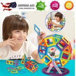 113Pc Magnetic Tiles Building Blocks Education Toys for Kids