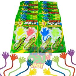 12 BIG Sticky Hands Birthday Party Favors Toy Party Supplies