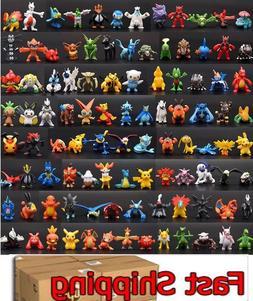 ☀️ 144 pcs Pokemon Mini PVC Action Figures pikachu Toys