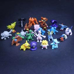 144PCs Wholesale Lots Cute Pokemon Mini Random Pearl Figures