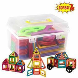 148 Pcs Set Magnetic Construction Building Blocks Bricks Toy