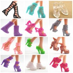 15 Pairs <font><b>Doll</b></font> Shoes Fashion Cute Shoes f