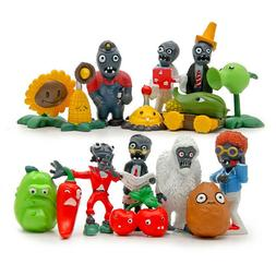 16x Plants Vs Zombies Toys Series Game Different Role Figure