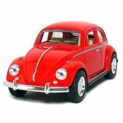 """New 5"""" Kinsmart 1967 Volkswagen Classical Beetle Diecast Mod"""