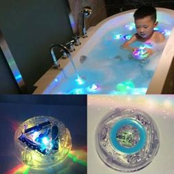 1Pc Kids Bathroom Toys Ball Colorful Light Waterproof Party