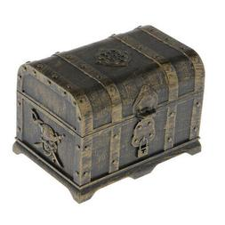 1pc Pirate Treasure Chest Storage and Decorative Box for Kid