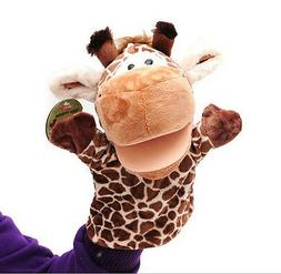 1Pcs Giraffe Toys Holiday Animal Puppet Kids Love Hand Puppe