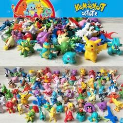 2-3cm 24/72/144pcs Lot Pokemon Toy Mini Action Figures Poké