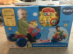 VTech 2 In 1 Learn And Zoom Motorbike Riding Toy For 1 Year