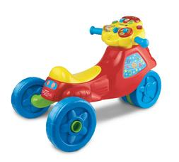 VTech, 2-in-1 Learn and Zoom Motorbike, Riding Toy for 1 Yea