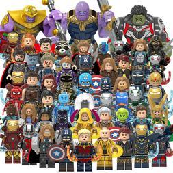 200+ Marvel Avengers Minifigures Iron Man Mark Batman Hulk S