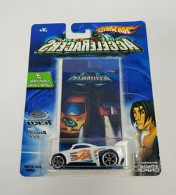 2005 Hot Wheels AcceleRacers Teku #3/9 Synkro Orange w/ Oran