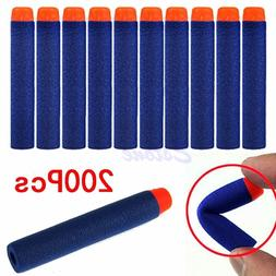 200pcs 7.2cm Refill Bullet Darts for Nerf N-strike Elite Ser