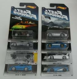 2017 Hot Wheels Walmart Exclusive Fast & Furious Series Comp