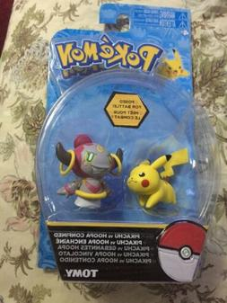 2017 Tomy Toys Pokémon Battle Figures Pikachu Vs Hoopa Conf