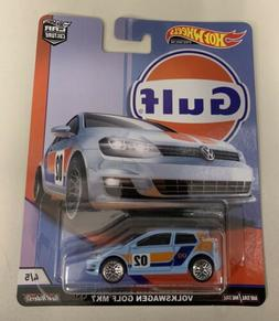 2018 Hot Wheels Car Culture Gulf Series #4/5 Volkswagen Golf