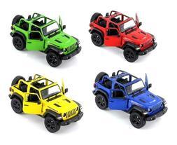 Kinsmart 2018 Jeep Wrangler 1:34 Scale Diecast Model Toy Car