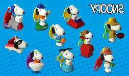 2018 McDONALD'S SNOOPY HAPPY MEAL TOYS! SO CUTE! PICK YOUR F