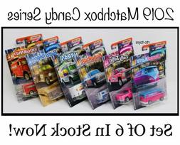 2019 Matchbox Candy Cars Series Collector Set Of 6 VW Van,Si