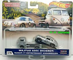 HOT WHEELS 2019 CAR CULTURE TEAM TRANSPORT CASE E PORSCHE 35