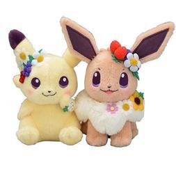 2019 New Authentic Japan anime game 2pcs Pikachu&Eievui's Ea