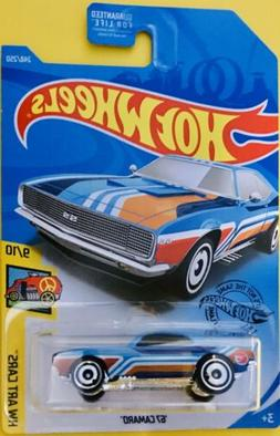 2019 Hot Wheels Q Case Treasure Hunt '67 Camaro Art Cars