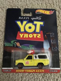 2019 Hot Wheels Retro Toy Story Pizza Planet Truck 1/64 Diec