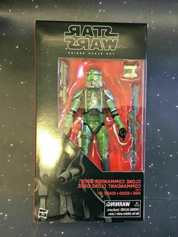 2019 Star Wars Black Series 6 inch Clone Commander Gree Excl
