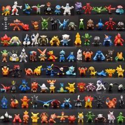 24 PCS Brand New Lots Cute Pokemon Mini Random Figures Kids