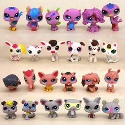 24x Hasbro Littlest Pet Shop LPS Cute Animal Fox Puppy Dogs