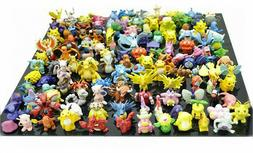 "24PCs Large Size Cute Pokemon 2-2.5"" Random Pearl Figures To"