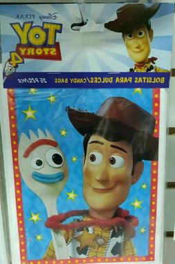 25/50 pcs Toy Story 4 Birthday Party Favors Treat Candy Bags