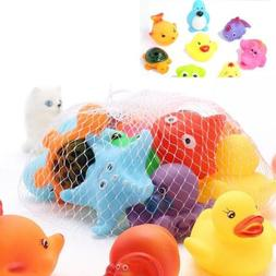 2pcs Mixed Different Animal Children Washing Baby Bath Toys