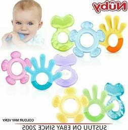 Nuby 3 Step Teether Set Soothing Baby Teething Gel Infant To