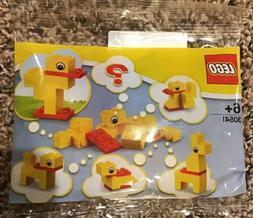 Lego 30541 Build a Duck Polybag 10 Pcs New 2018