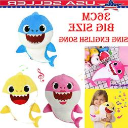 Sing Song Baby Shark PinkFong toy Pulsh Doll Soft Toys shark