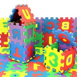 36Pcs Baby Child Number Alphabet Puzzle Foam Maths Education