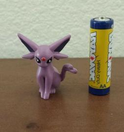 3rd Generation pokemon plastic figure Espreon 1-2 inches tal