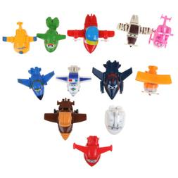 4/8/12Pcs Korea TV Animation Super Wings Transforming Plane