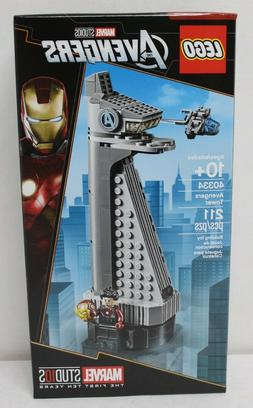 LEGO 40334 Marvel Avengers Tower 211pcs New in Hand Free Shi