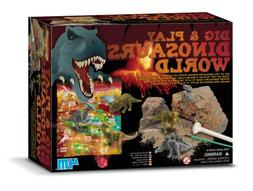 4M Dig and Play Dinosaur Play Set