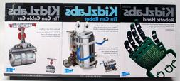 4M KidzLabs Science Toys 3 pc. set of arts and crafts, robot