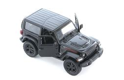 "5"" Kinsmart 2018 Jeep Wrangler Rubicon Black Diecast Model T"