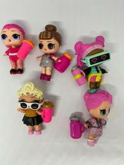 5 LOL Surprise Dolls RANDOM Dress Shoes Bottle Accessories P