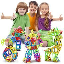 50Pcs All Magnetic Building Blocks Construction Children Toy