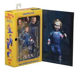 "6"" Child's Play Chucky Toys Doll NECA Ultimate Good Guy Acti"