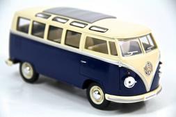 """7"""" Kinsmart 1962 VW Volkswagen Bus Diecast Model Toy Car Van"""